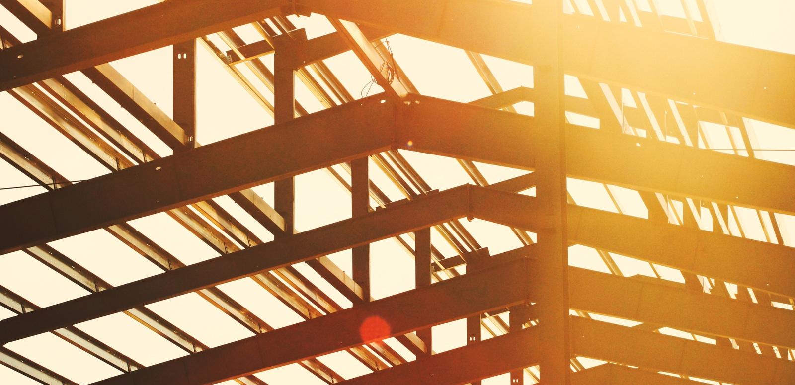 Construction Update - Steel Beams
