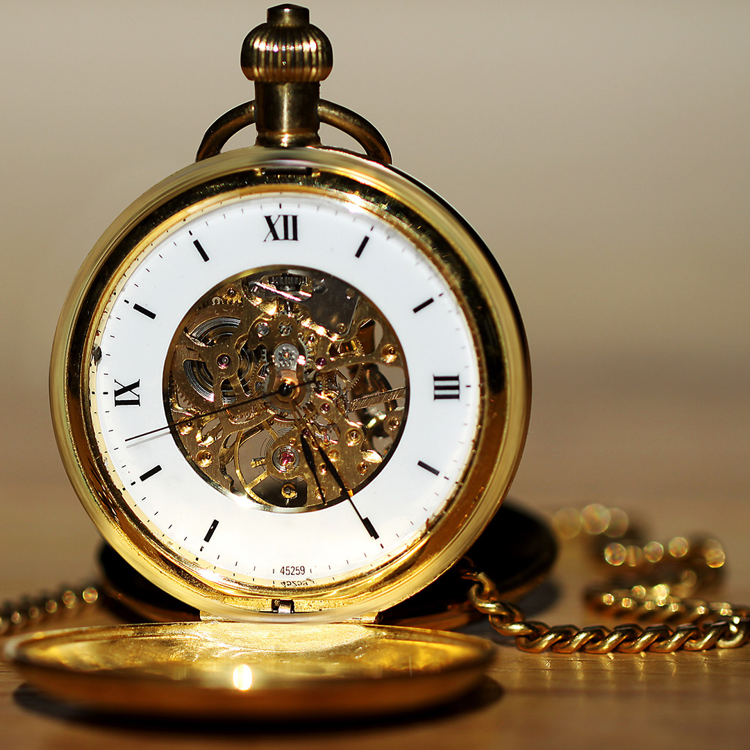 Old style pocket watch