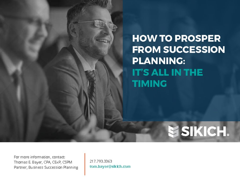 thumbnail of How-To-Prosper-From-Succession-Planning