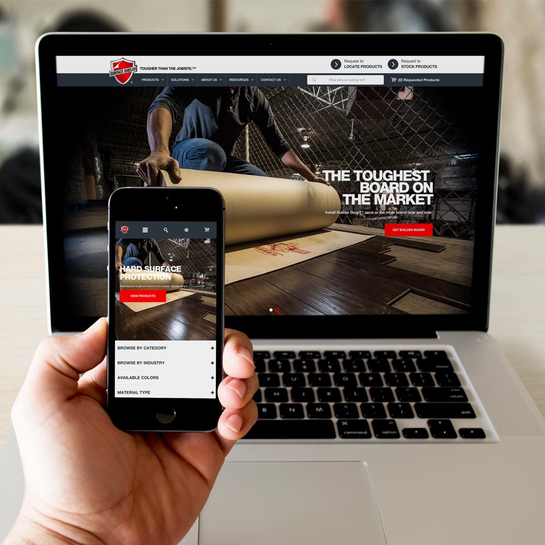 Surface Shields website