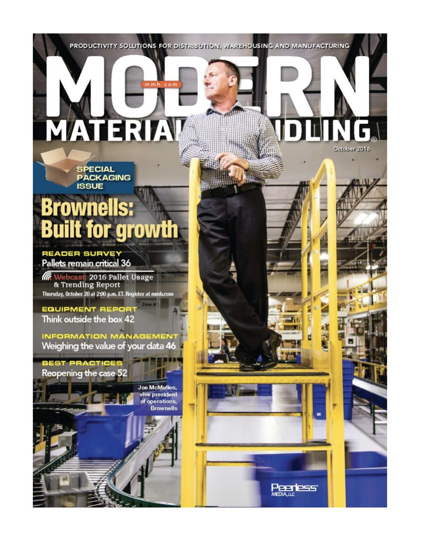 Brownells on Modern Material Handling