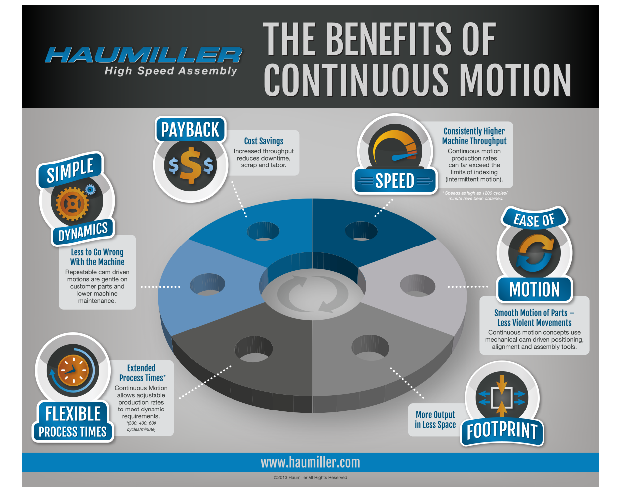Haumilled flat infographic