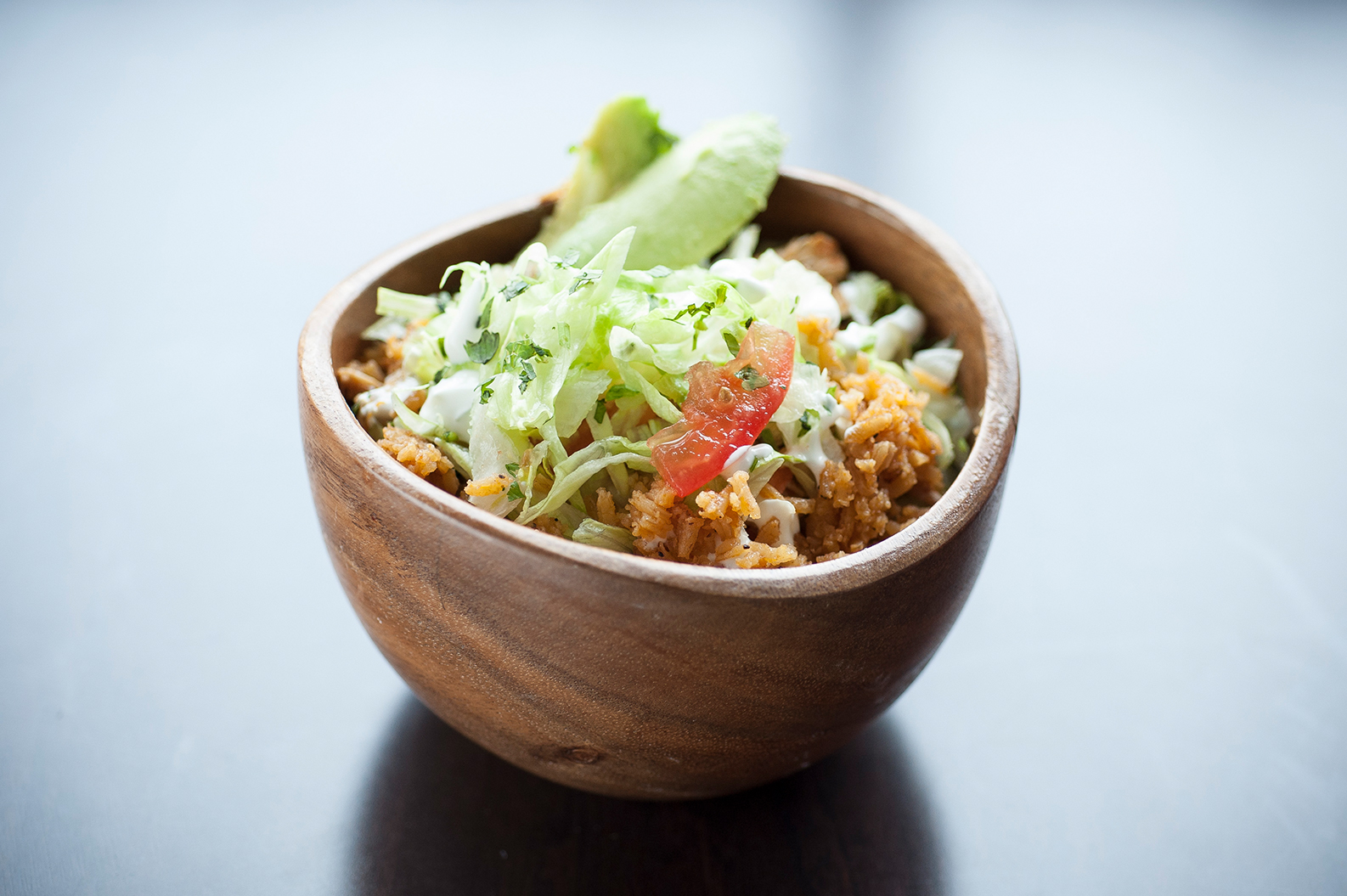 Pride Cafe rice bowl