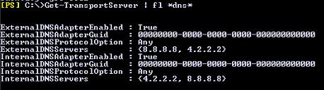 exchange server message queue error 451 4.4.0 DNS query failed