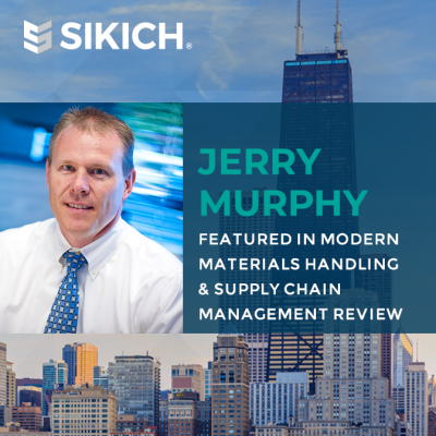Jerry Murphy in Material Handling Management Review and Supply Chain Management Review