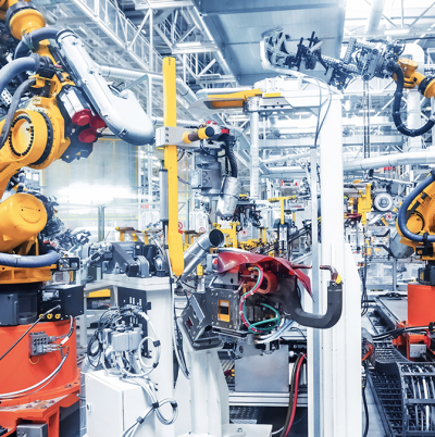 Robotics and Cobots in Manufacturing and Distribution