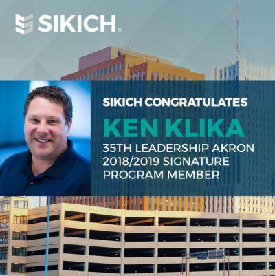 Ken Klika selected for 35th leadership akron program