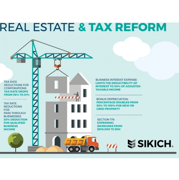 Real Estate and Tax Reform