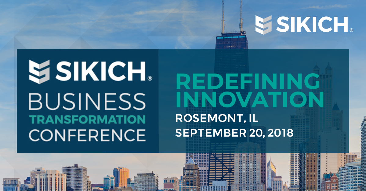 Sikich Business Transformation Conference 2018