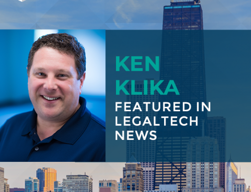 Ken Klika Featured in Legaltech News
