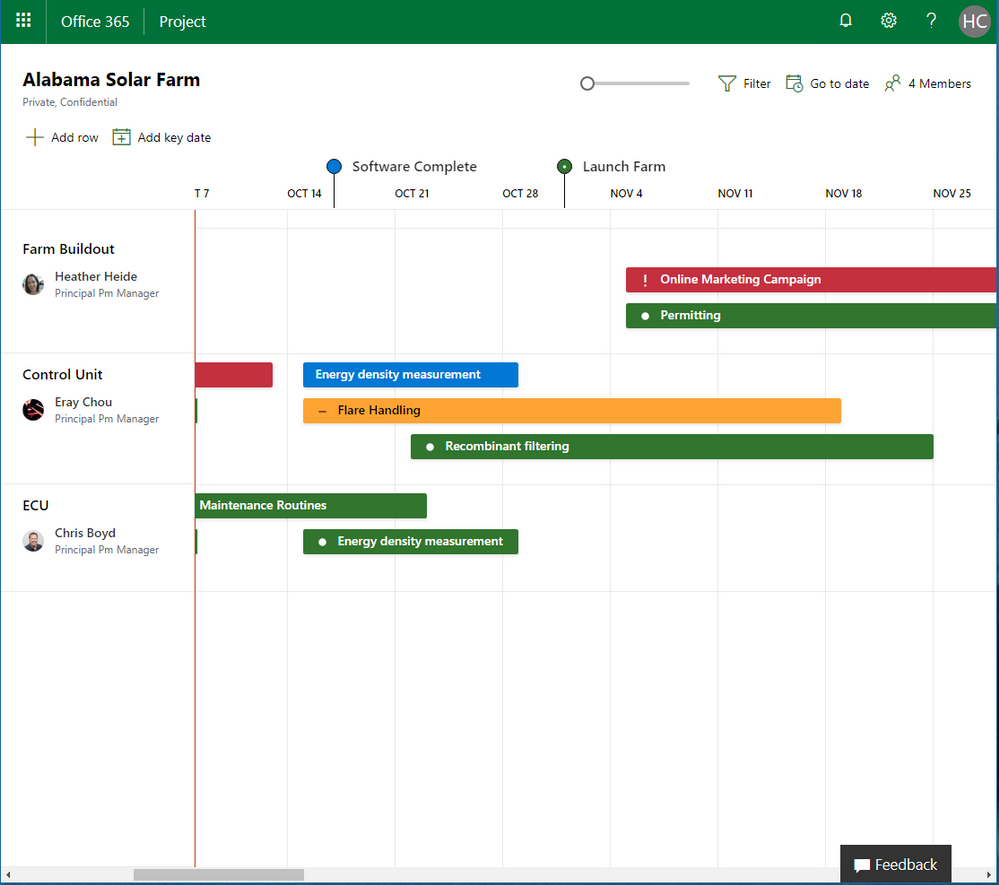 Microsoft task management tools