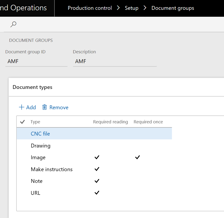 how to provide instructions to job operators in Dynamics AX