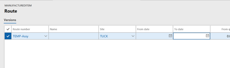 How to Use Master Routings in Dynamics AX