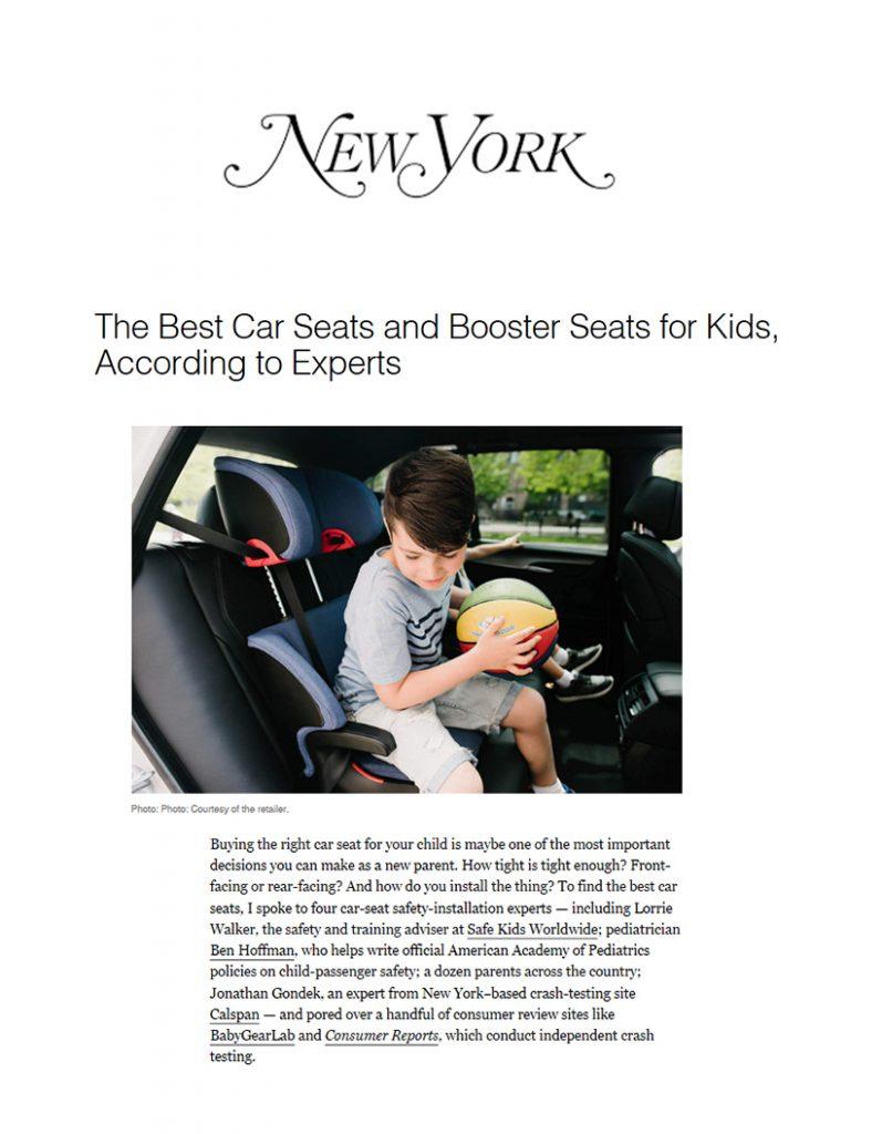 Britax BOB NY Magazine
