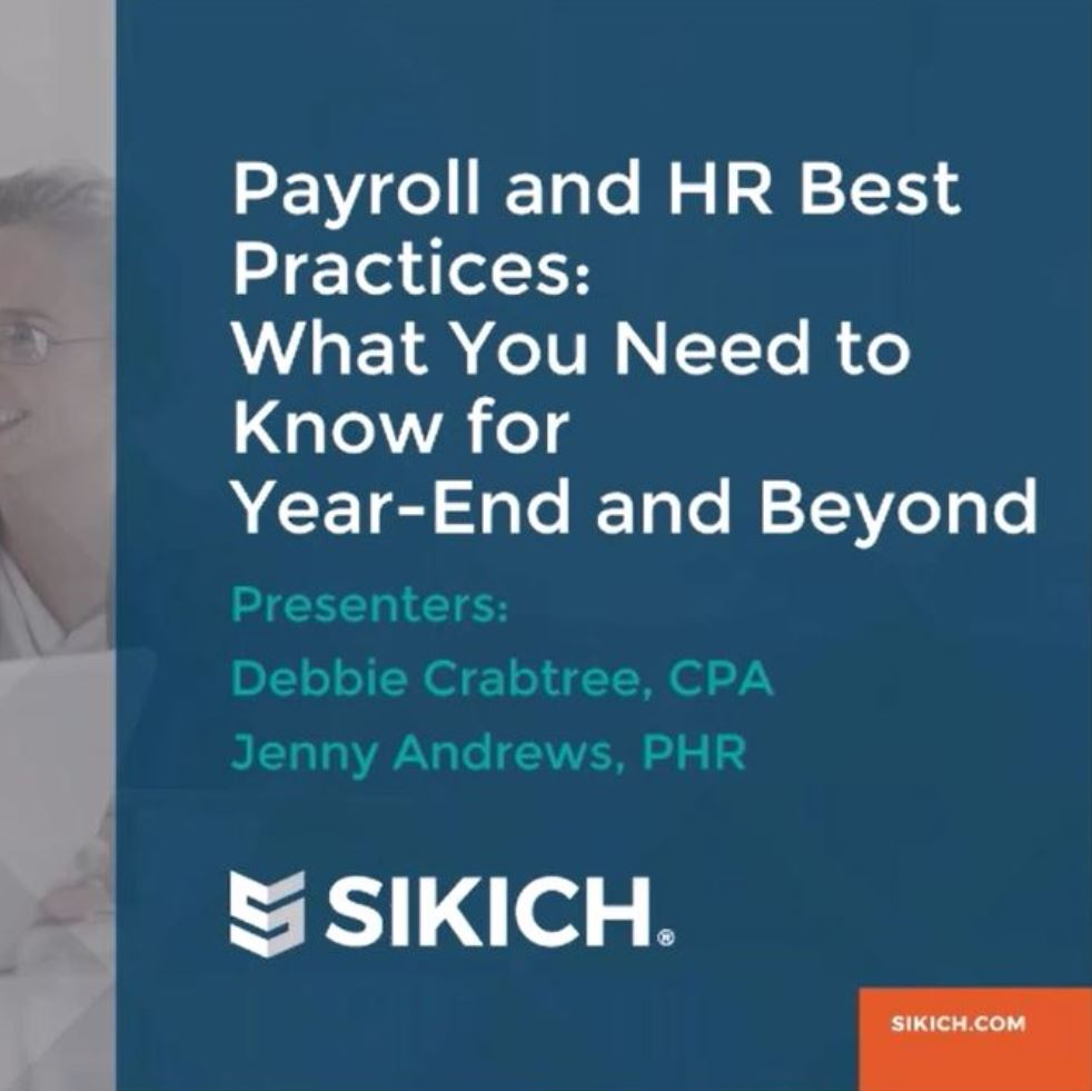 Payroll & HR Webinar Recording