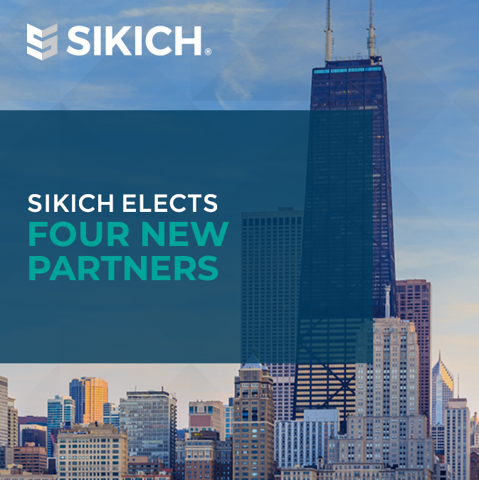 Sikich Elects 4 New Partners