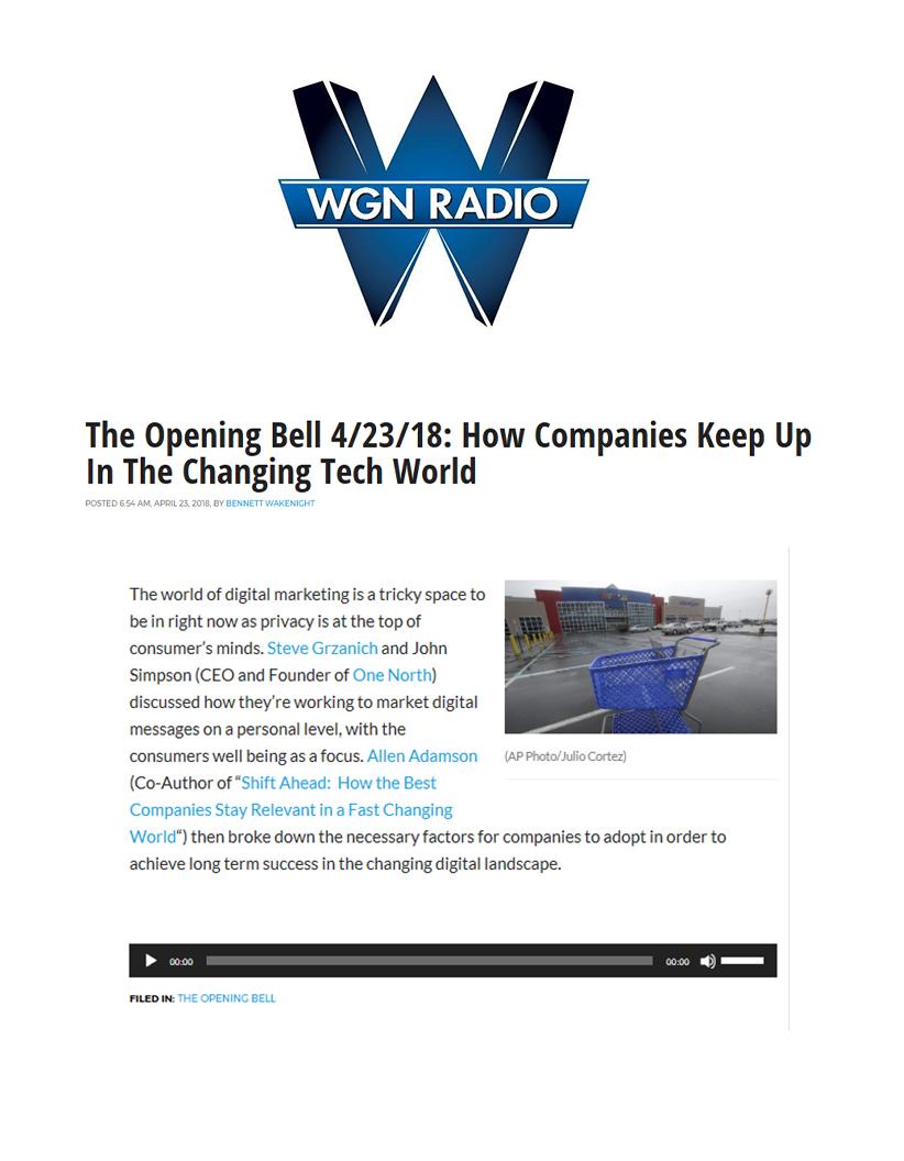 One North WGN Radio