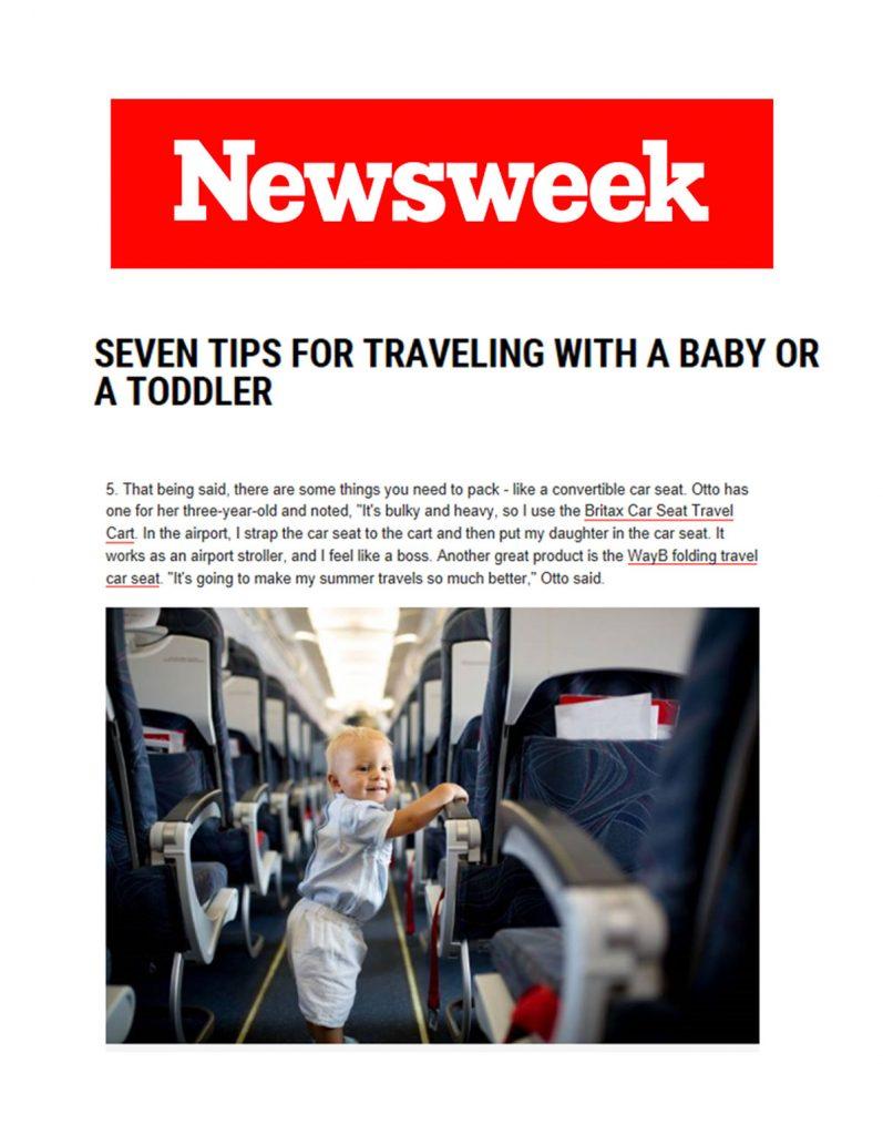 Britax in Newsweek