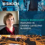 Tracy Burkhart and M&D Report Featured in Crain's Cleveland Business