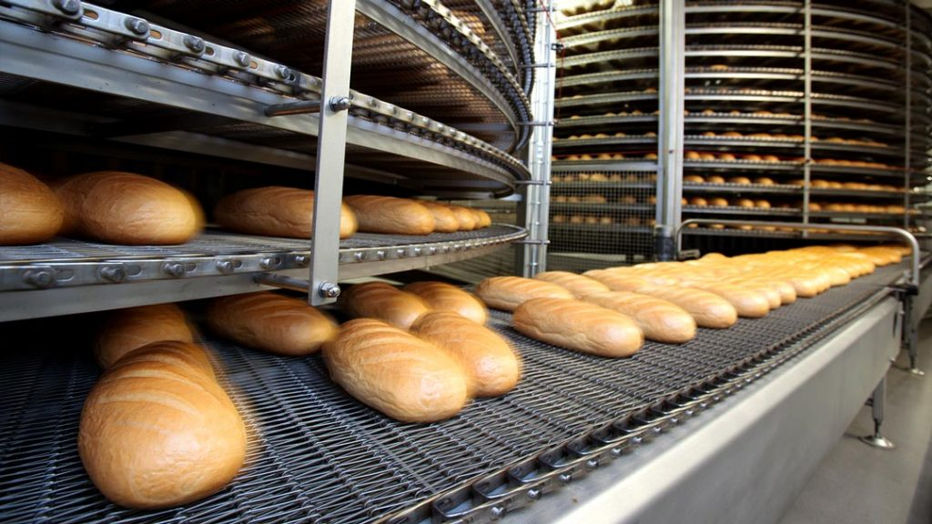 industrial bakery running Dynamics 365 for Finance and Operations