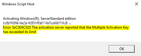Activating Windows (R)