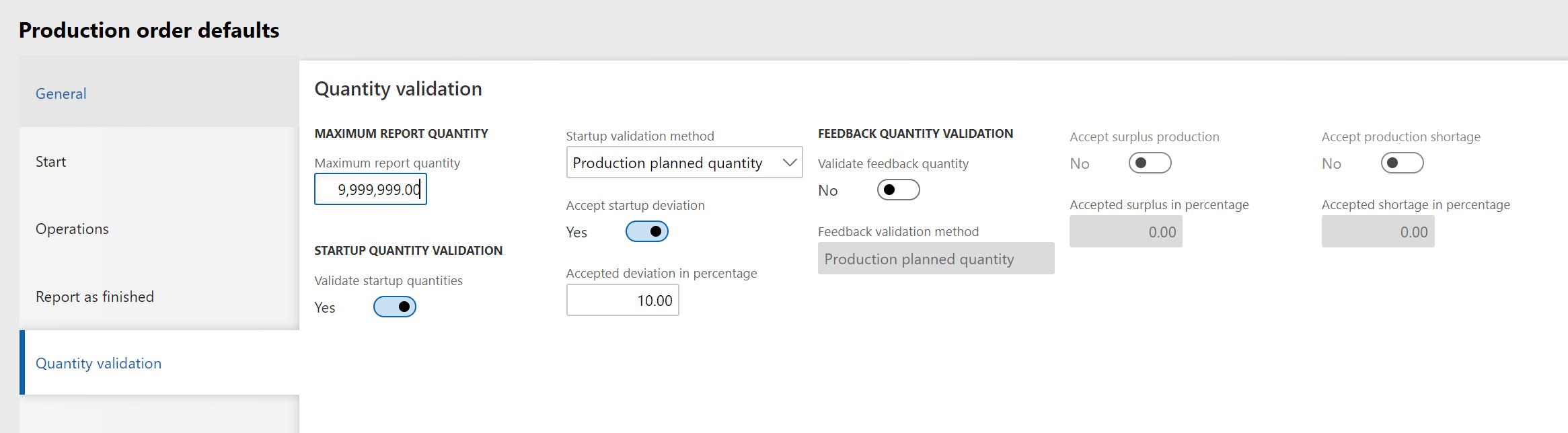 Advanced Warehousing manufacturing execution