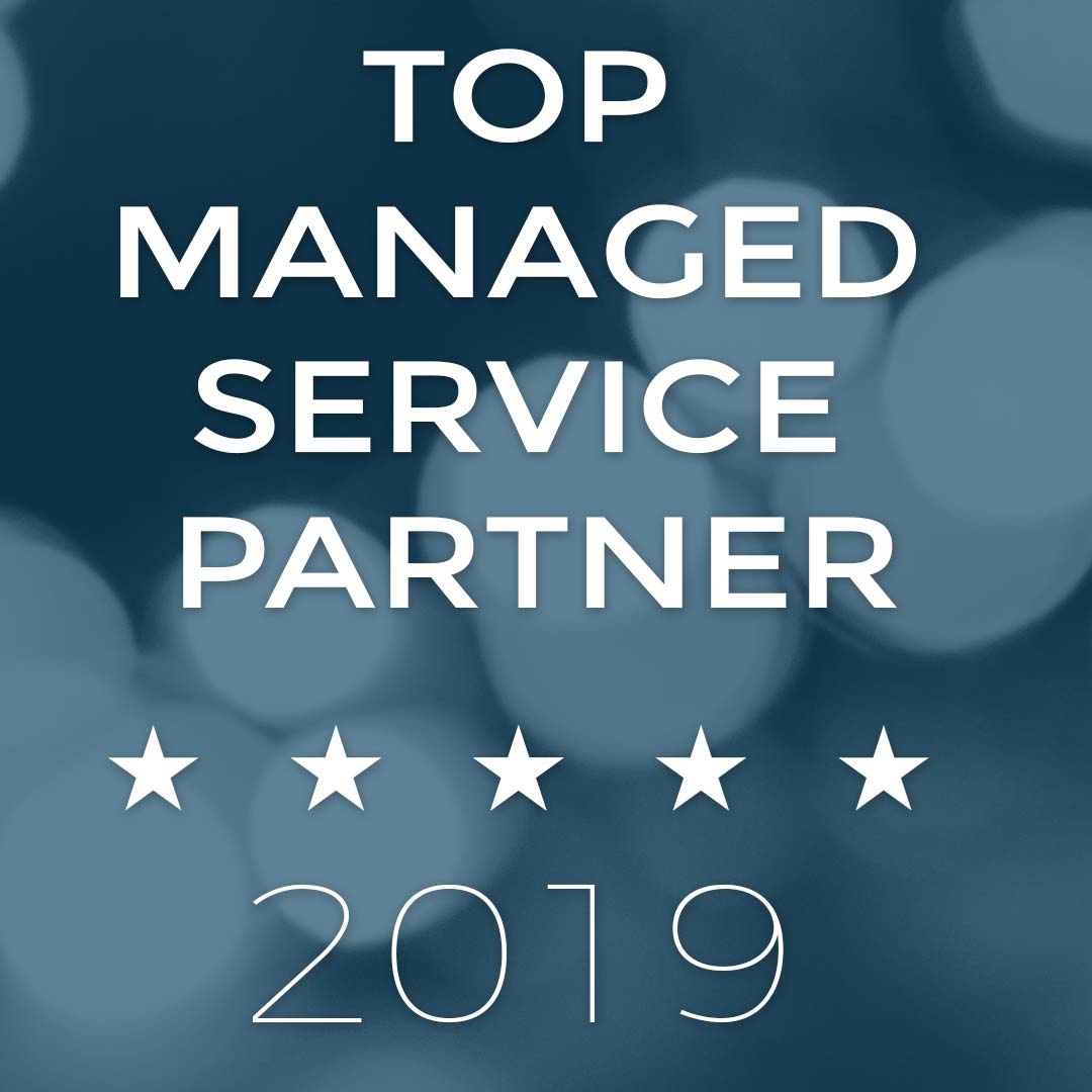 logo for top managed service provider award from MSP 501