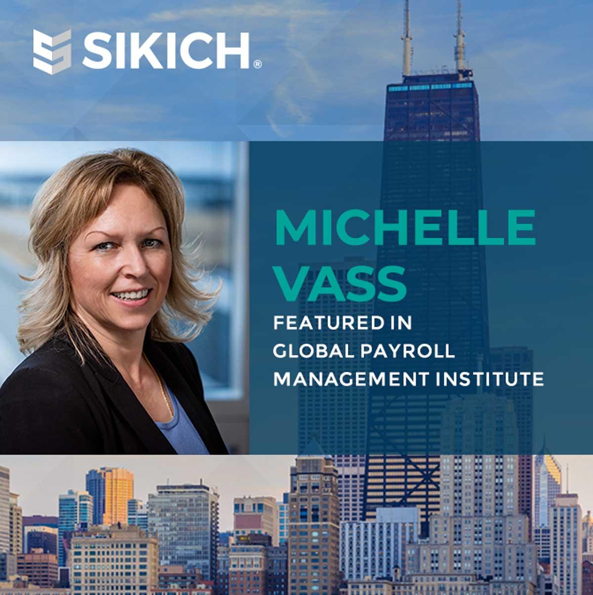 Michelle Vass head shot with Chicago Background