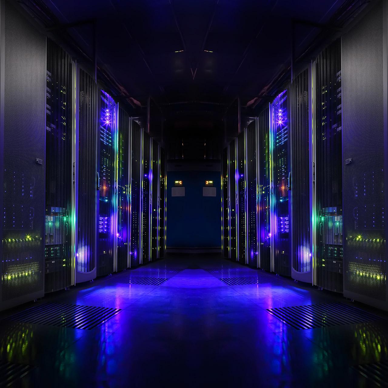 server room for cloud computing