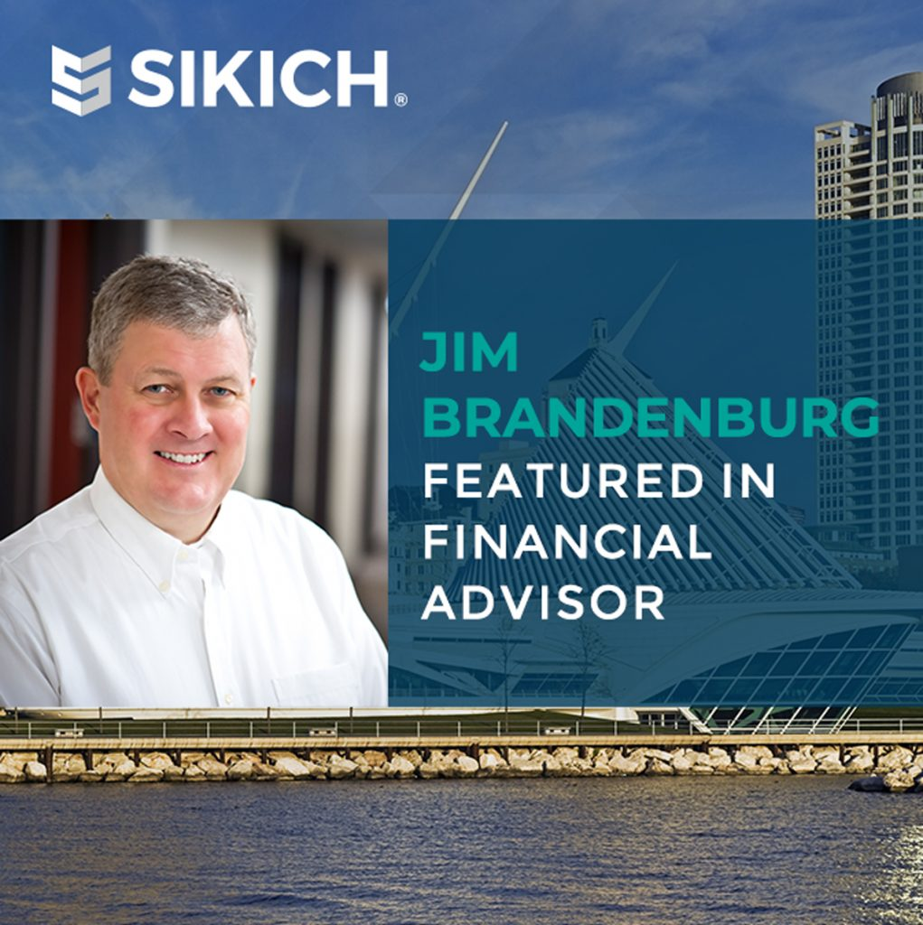 Jim Brandenburg featured in financial advisor