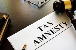 Tax Amnesty Filing