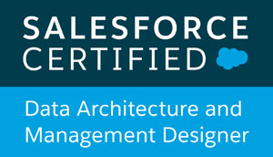 Salesforce Certified data architecture and management designer
