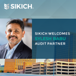 Sylesh Babu joins Sikich as audit partner