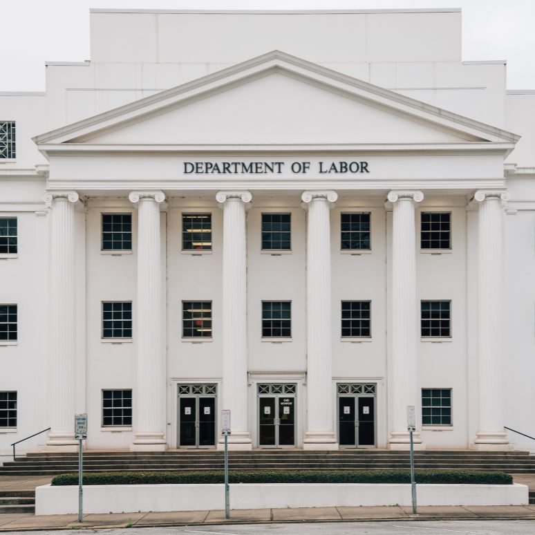 The Department of Labor Building in Montgomery, Alabama