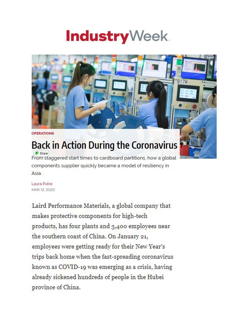 Laird IndustryWeek