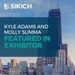 Kyle Adams and Molly Summa Featured in Exhibitor