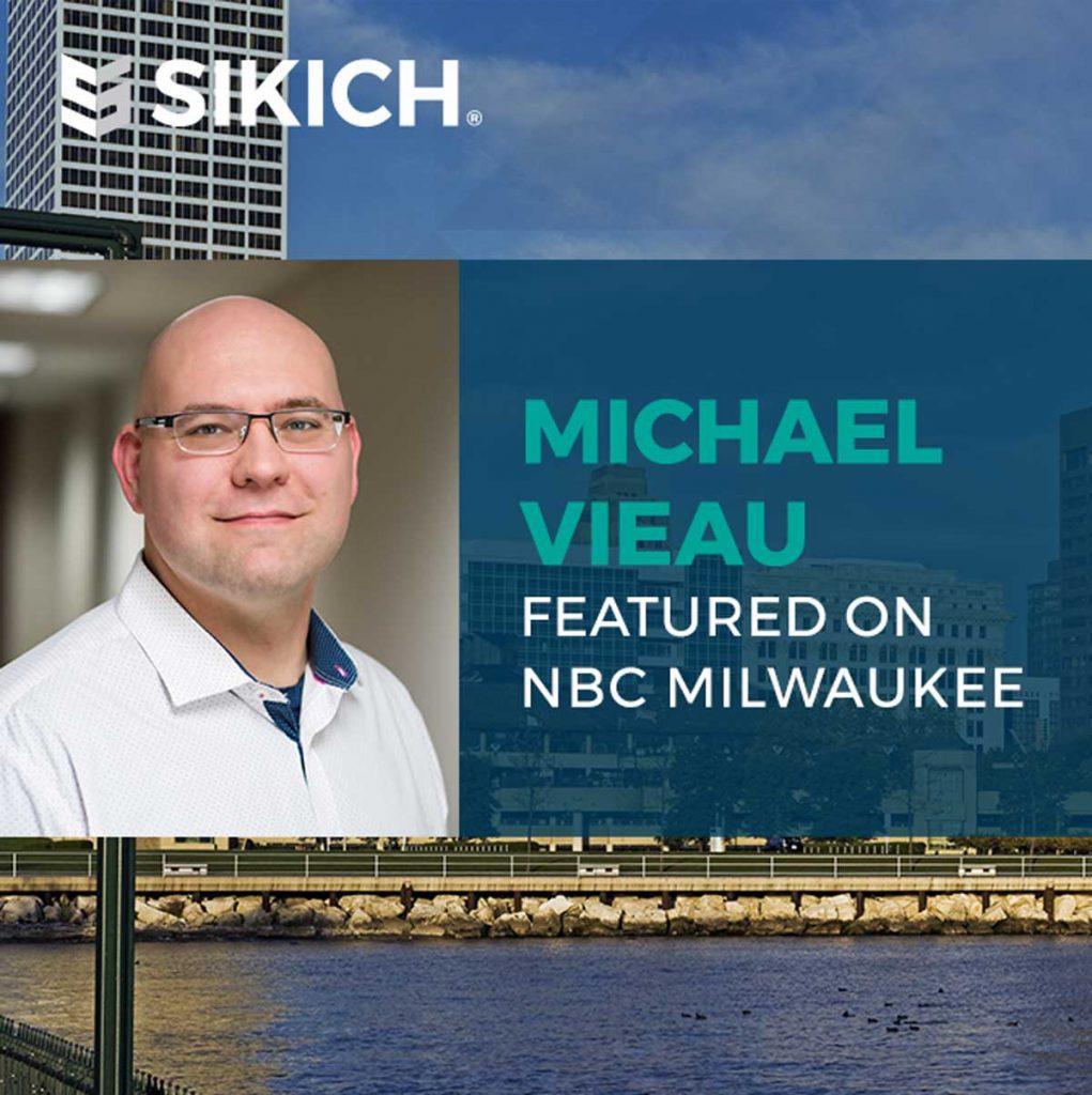 Michael Vieau featured on NBC Milwaukee