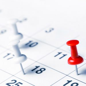 D365 master planning dates