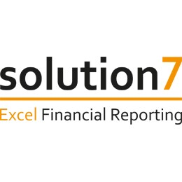solution 7 Excel financial reporting