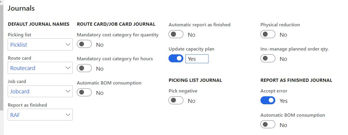 journals fast tab