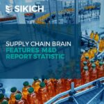 Supply Chain Brain Features M&D Report Statistic