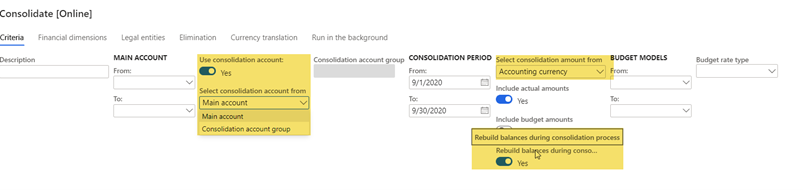 preventing duplicate subsequent consolidations