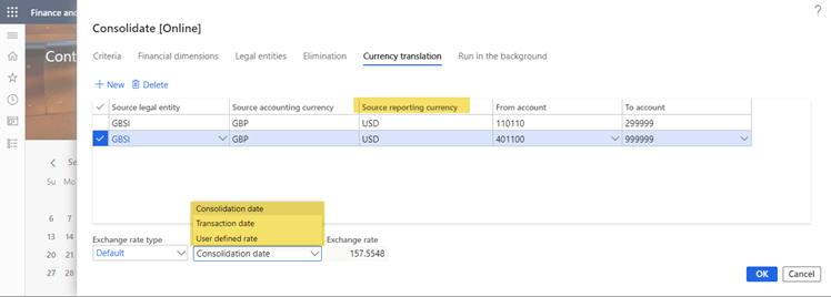 currency translation