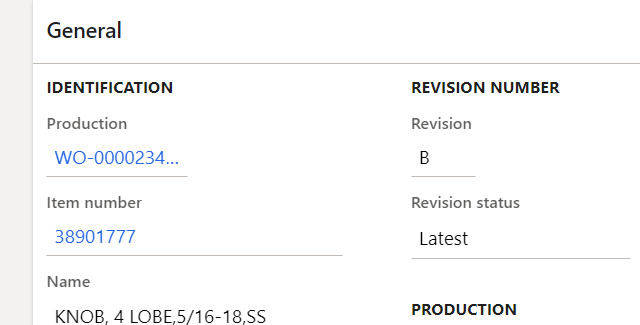 D365FO engineering revision is the latest