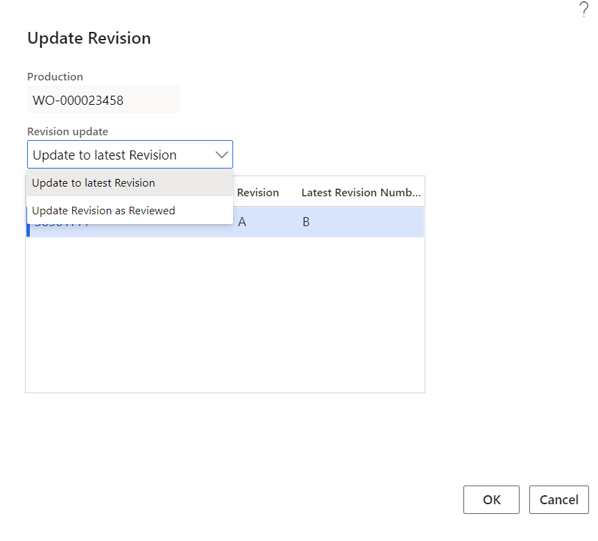 update to latest engineering revision in D365FO