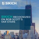 Sikich recognized on Bob Scott's list of VAR Stars
