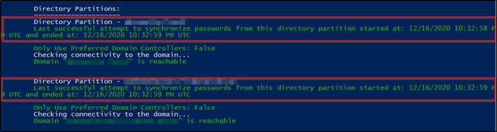 azure ad password synchronization resolved
