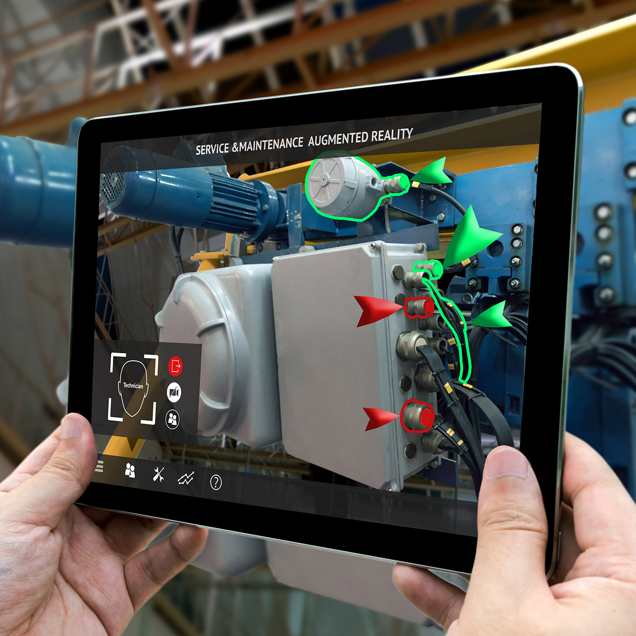 manufacturing tech trends, augmented reality