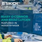 Mary O'Connor and Brad Lutgen Featured in IndustryWeek