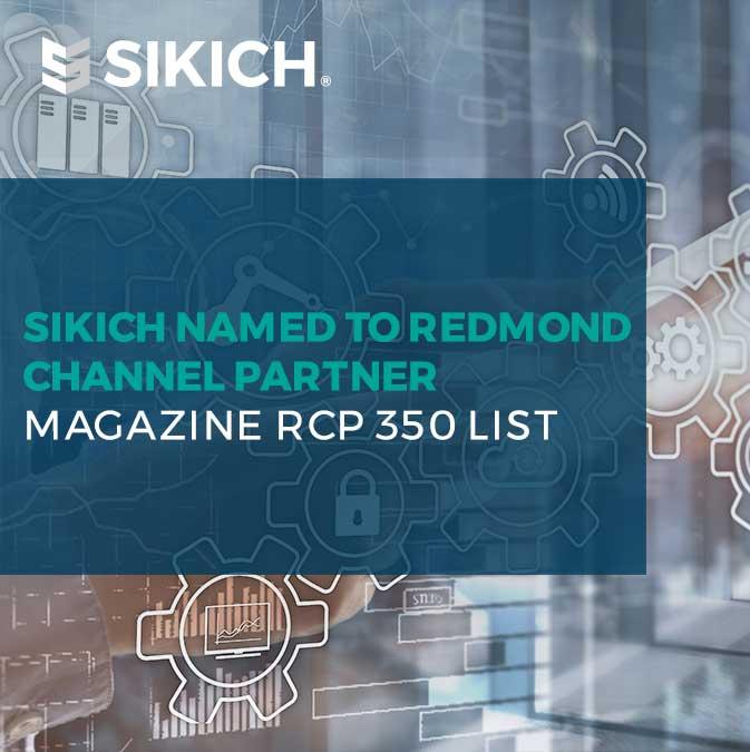 Sikich-named-to-Redmond-Channel-Partner-list